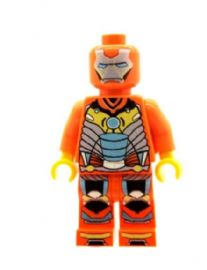 Ironman (Iron Man Orange) - Custom Designed Minifigure